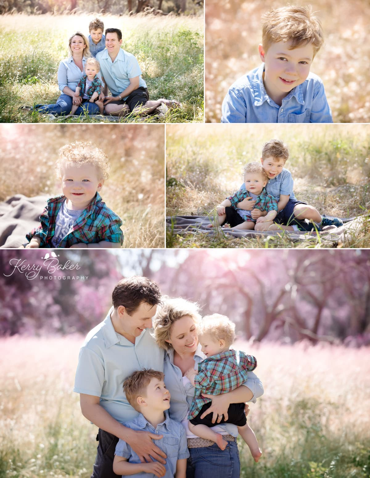 Family photos in Perth beautiful outdoor location