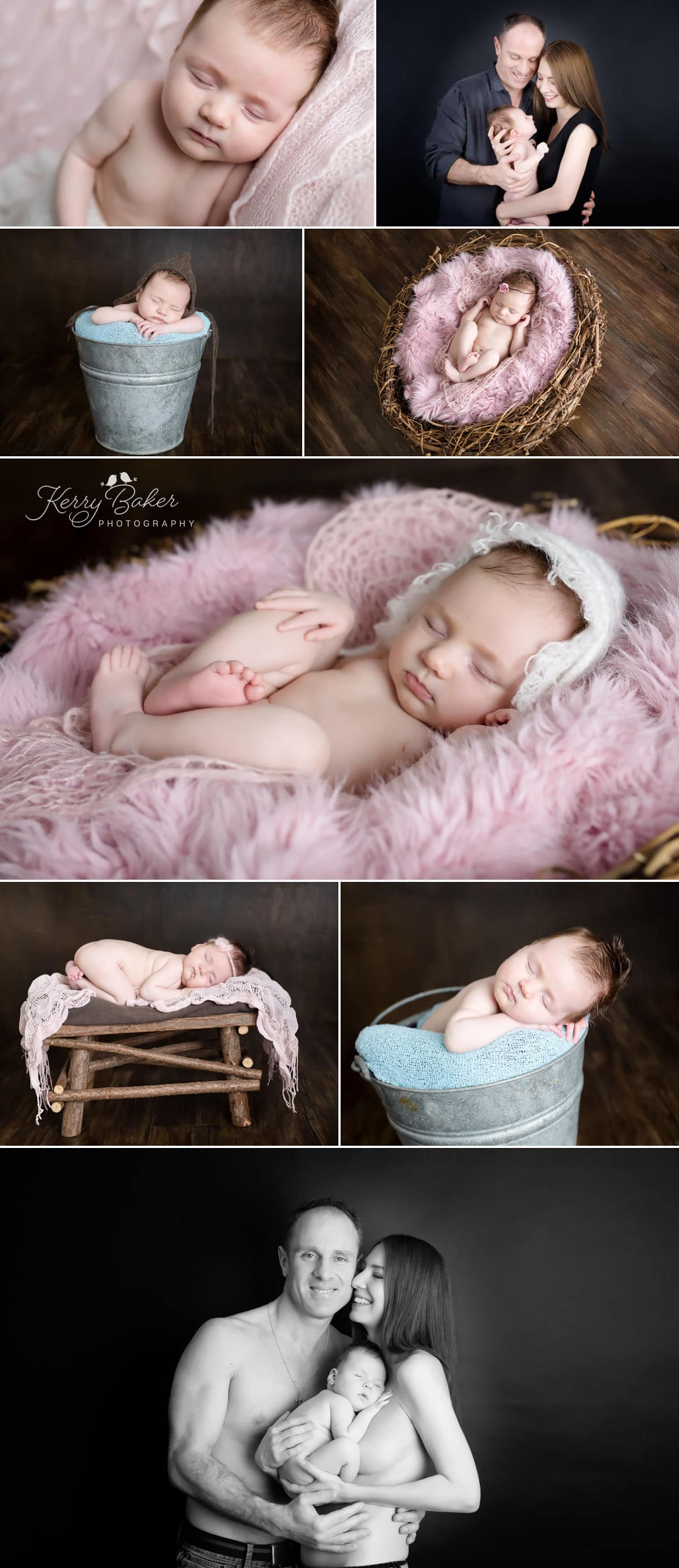 7 week baby photos with family newborn photos perth