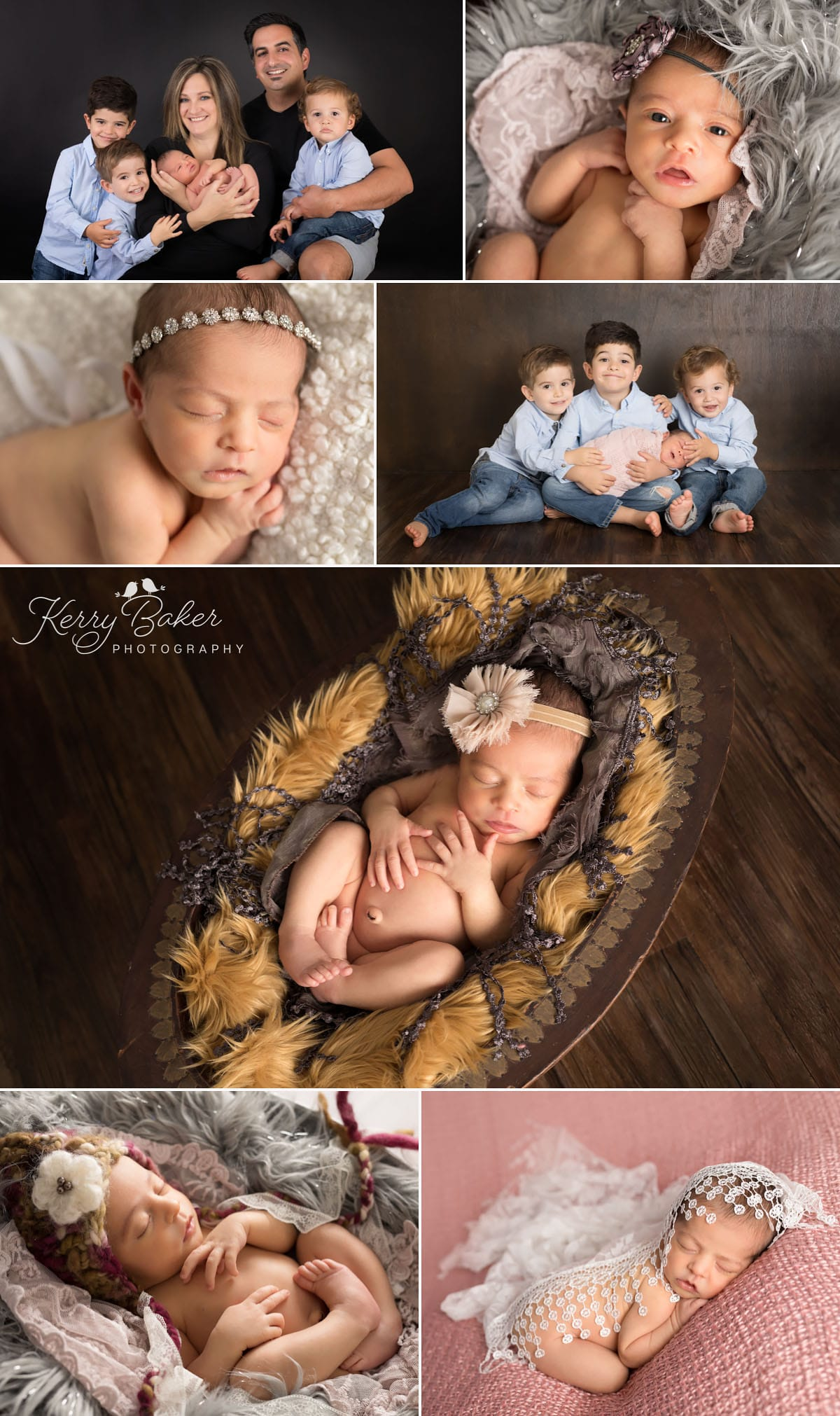 13 days old newborn photos in perth family photos with 3 brothers