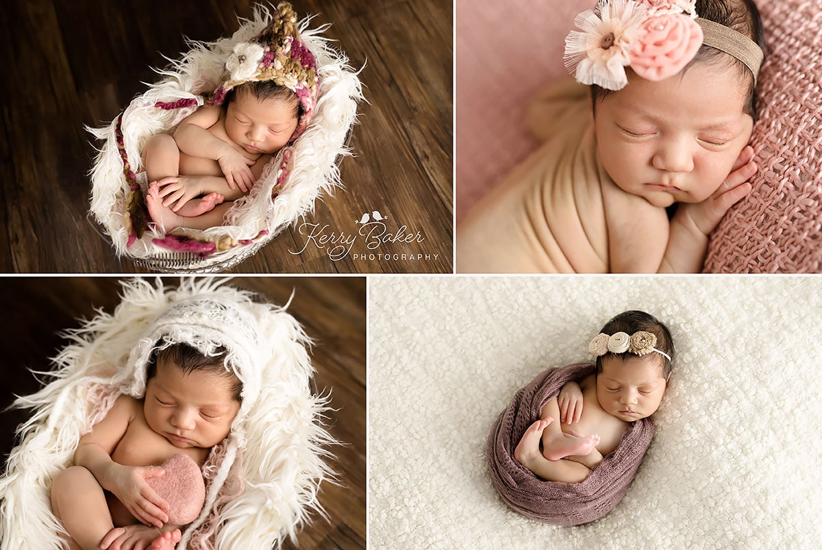 baby girl 13 day old newborn photos