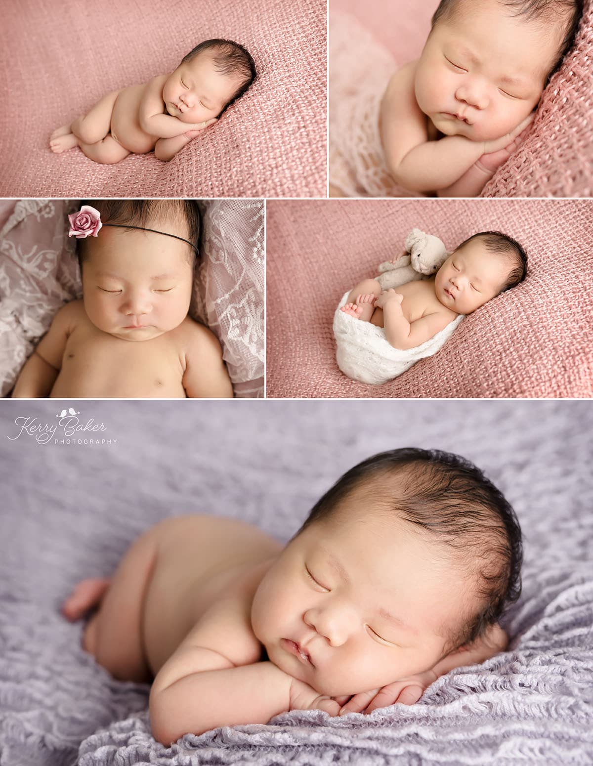 newborn photos of beautiful asian baby girl 12 days