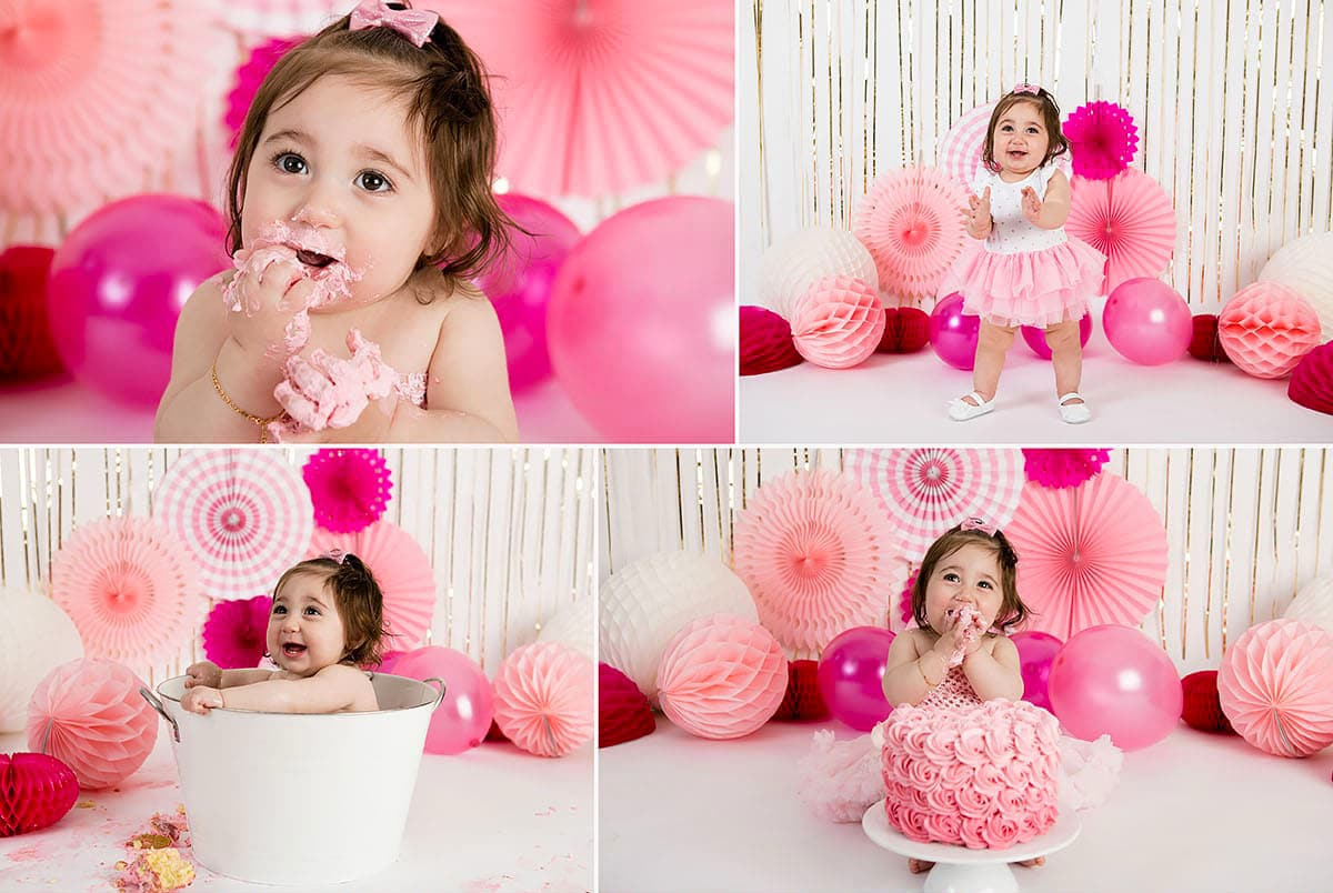 cake smash photography session in perth