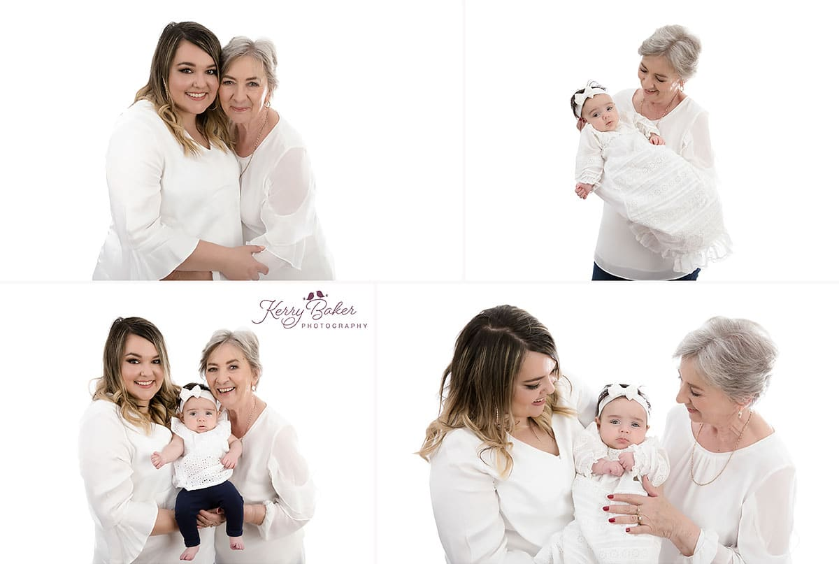 Mother Grandmother and Daughter special 3 generations photos Perth