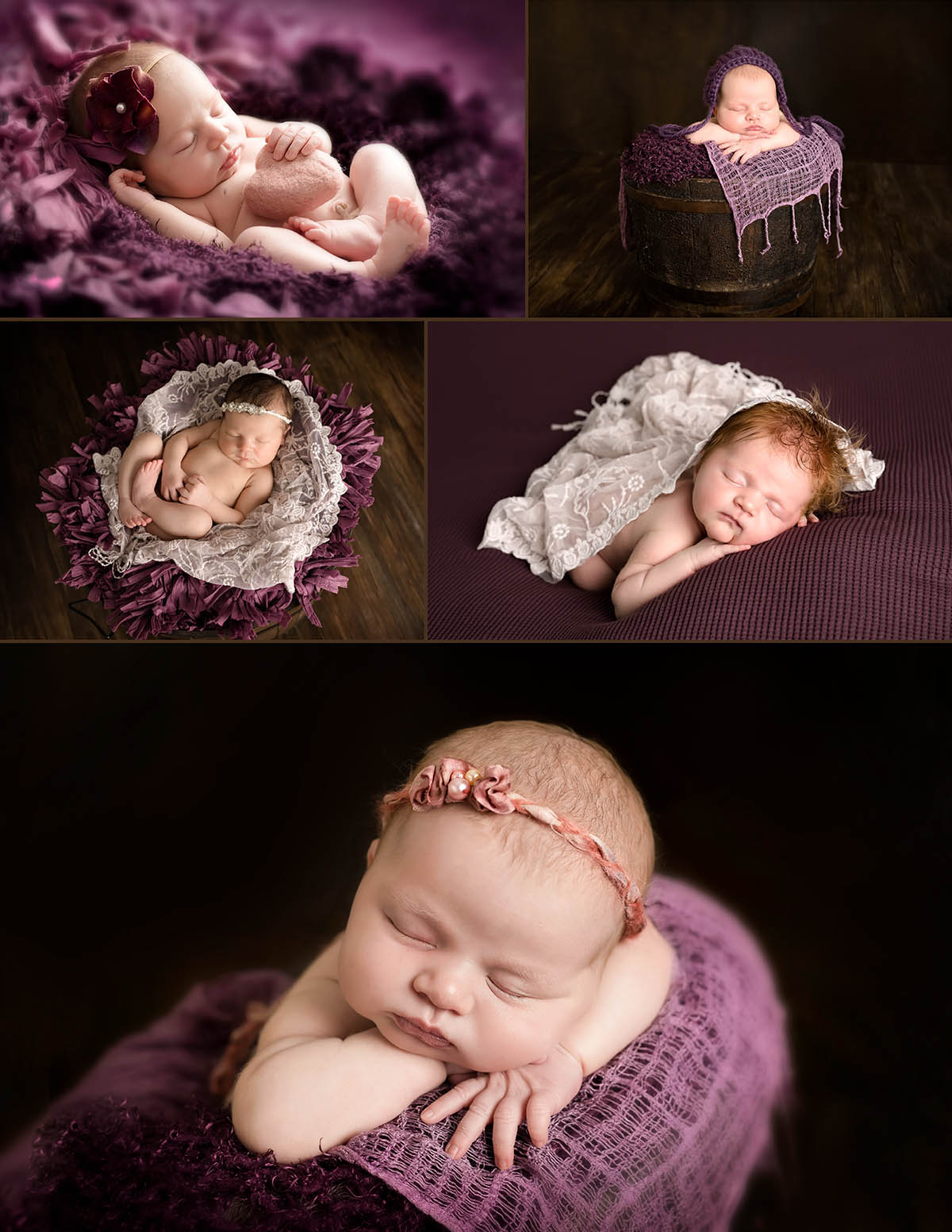 Newborn photographer Perth portfolio by Kerry Baker